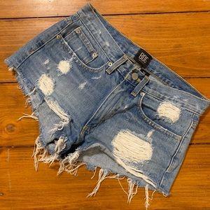 UO BDG Essential Mid-Rise Denim Jean Shorts